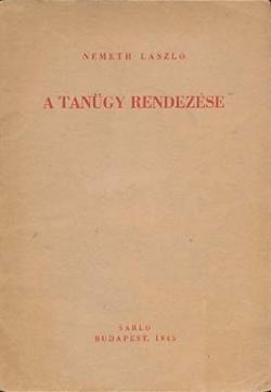 A tanügy rendezése (1945)