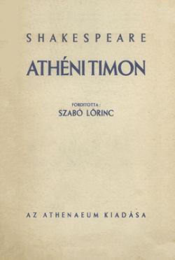 Athéni Timon (1935)