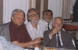 Bertók László, Szakonyi Károly, Gyurkovics Tibor és Takáts Gyula (1998, DIA)
