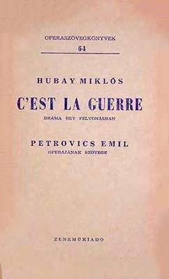 C' est la guerre (1963)