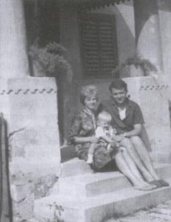 Családjával (Vése, 1967)