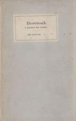 Dícsértessék (1938)
