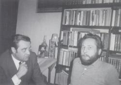 Dring és Drong a hatvanas években. A jóbarátok, Gyurkovics Tibor és Szakonyi Károly