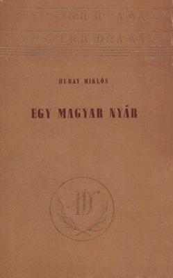 Egy magyar nyár (1954)