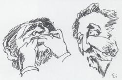 Eigel István karikatúráján
