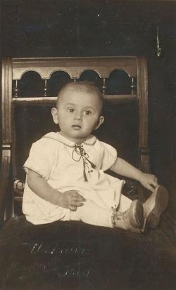 Első születésnap (Bicske, 1928. január 26.)
