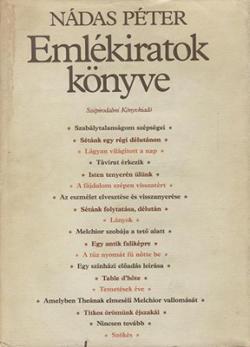 Emlékiratok könyve (1986)