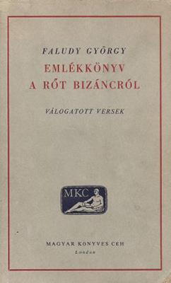 Emlékkönyv a rőt Bizáncról (1961)