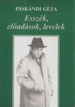 Esszék, előadások, levelek (1995)