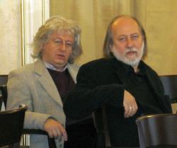 Esterházy Péter, Krasznahorkai László (DIA, 2006)