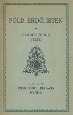 Föld, erdő, isten (1922)