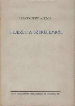 Fejezet a szerelemről (1936)