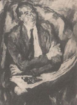 Frank Frigyes festménye