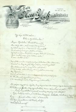 Füst Milán: Egy régi költő műve – Óda a fejedelemhez! (1912)