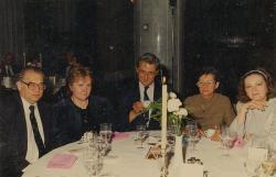 Harmati Béla, Polgár Rózsa, Lakatos István, Lakatos Istvánné, Jókai Anna (Budapesti Hilton hotel, 1992 nyara)