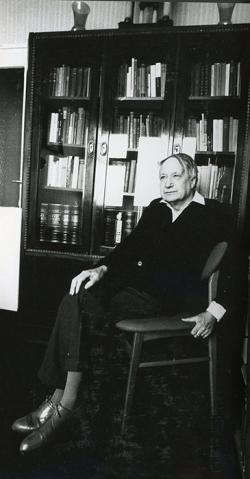 Kálnoky László otthonában (Budapest, 1970-es évek közepe)