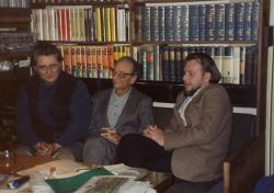 Lengyel Balázzsal és Balassa Péterrel (1988. október 24.)
