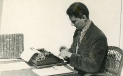 A visegrádi alkotóházban (1956 április)
