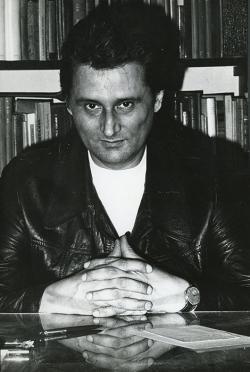 Lakatos István az ötvenedik születésnapján (1977. április 26.) (Fotó: Sugár János)