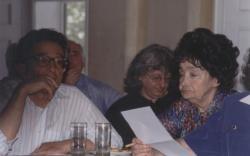 Lator László, Esterházy Péter és Szabó Magda (1998, DIA)