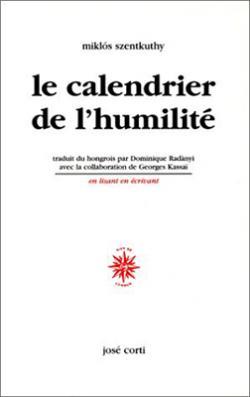Le Calendrier de l'humilité (1998)