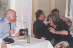 Moldova György, Esterházy Péter (DIA, 1998)