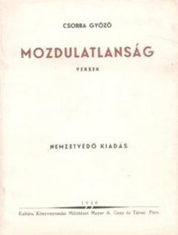 Mozdulatlanság (1938)
