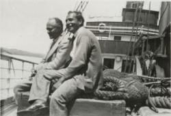Déry Tibor és Füst Milán (1933)
