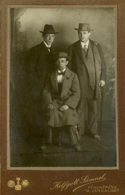 Nagy Zoltán, Tóth Árpád és Füst Milán