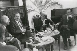 Ottlik Géza, Czigány György, Nemes Nagy Ágnes és Lator László 1984-ben