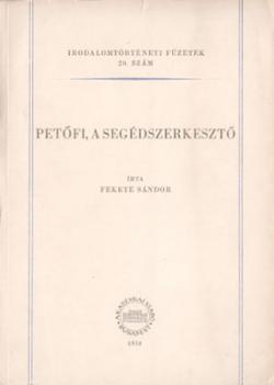 Petőfi, a segédszerkesztő (1958)