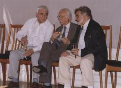 Sánta Ferenc, Takáts Gyula és Gyurkovics Tibor (1998, DIA)