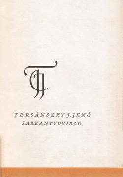 Sarkantyúvirág (1963)