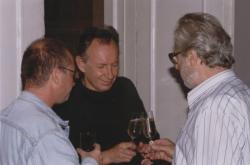 Spiró György, Tandori Dezső és Szakonyi Károly (1998, DIA)