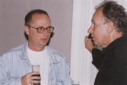 Spiró György és Tandori Dezső (1998, DIA)