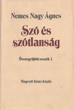 Szó és szótlanság (1989)