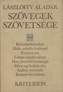 Szövegek szövetsége (1988)