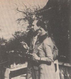 Szentkuthy Miklós és lánya, Mariella Legnani-Pfisterer (1964)