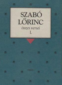 Szabó Lőrinc Összes versei (2000)