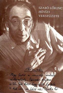 Szabó Lőrinc hévízi versfüzete (1980)