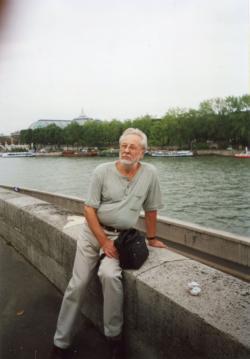 Szakonyi Károly a Szajna-parton