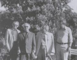 Takács Jenő, Martyn Ferenc, Csorba Győző, Bertók László (Pécs, 1983)