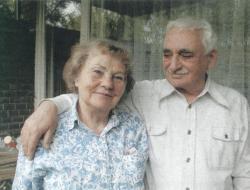 Feleségével, Ilonával a 2000-es évek elején