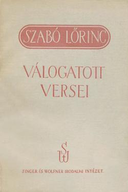 Válogatott versei (1940)