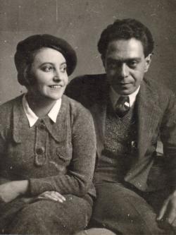 Zelk Zoltán és Bátori Irén