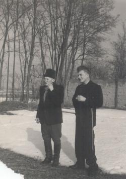 Édesapja és bátyja, Nagy László