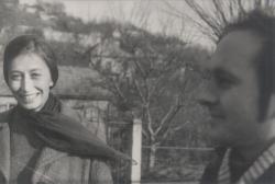 Feleségével Máriaremetén, 1972