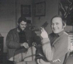 Simonffy Andrással Máriaremetén, 1972