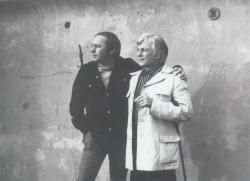 Bátyjával, 1975
