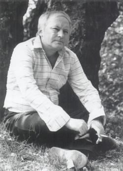Ágh István-portré (fotó: Kecskeméti Kálmán)